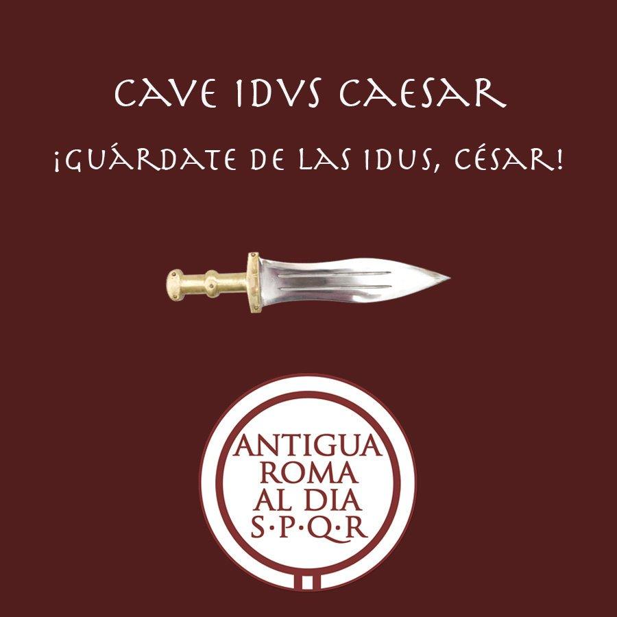 Antigua Roma al Día's photo on Idus de Marzo