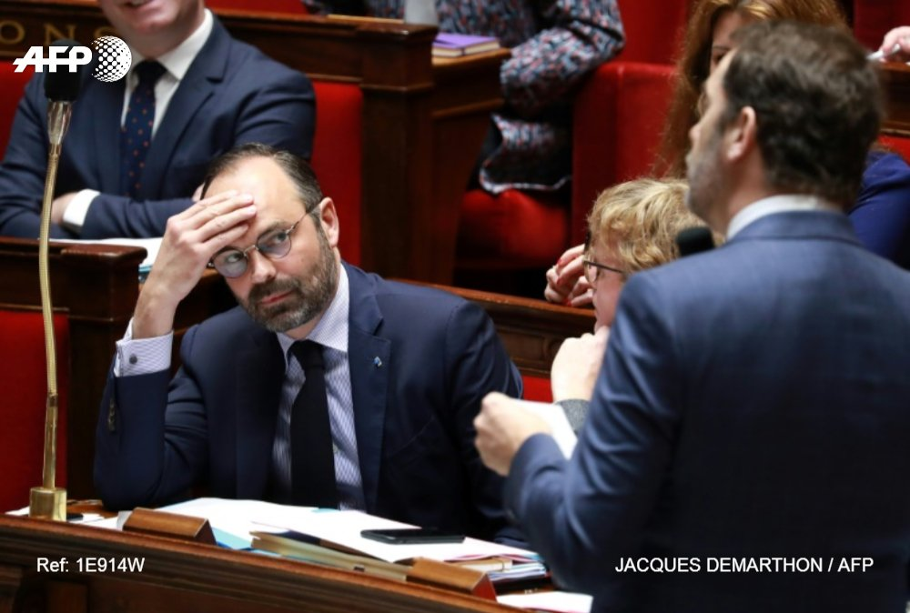 Agence France-Presse's photo on Édouard Philippe