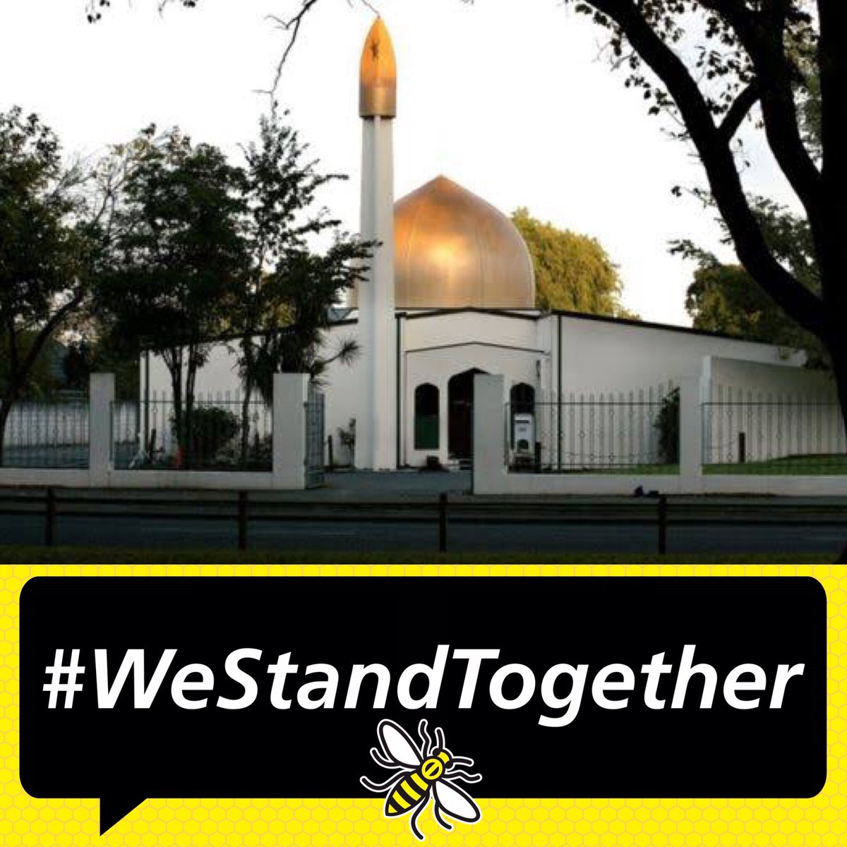 Umer Khan 🐝's photo on #WeStandTogether