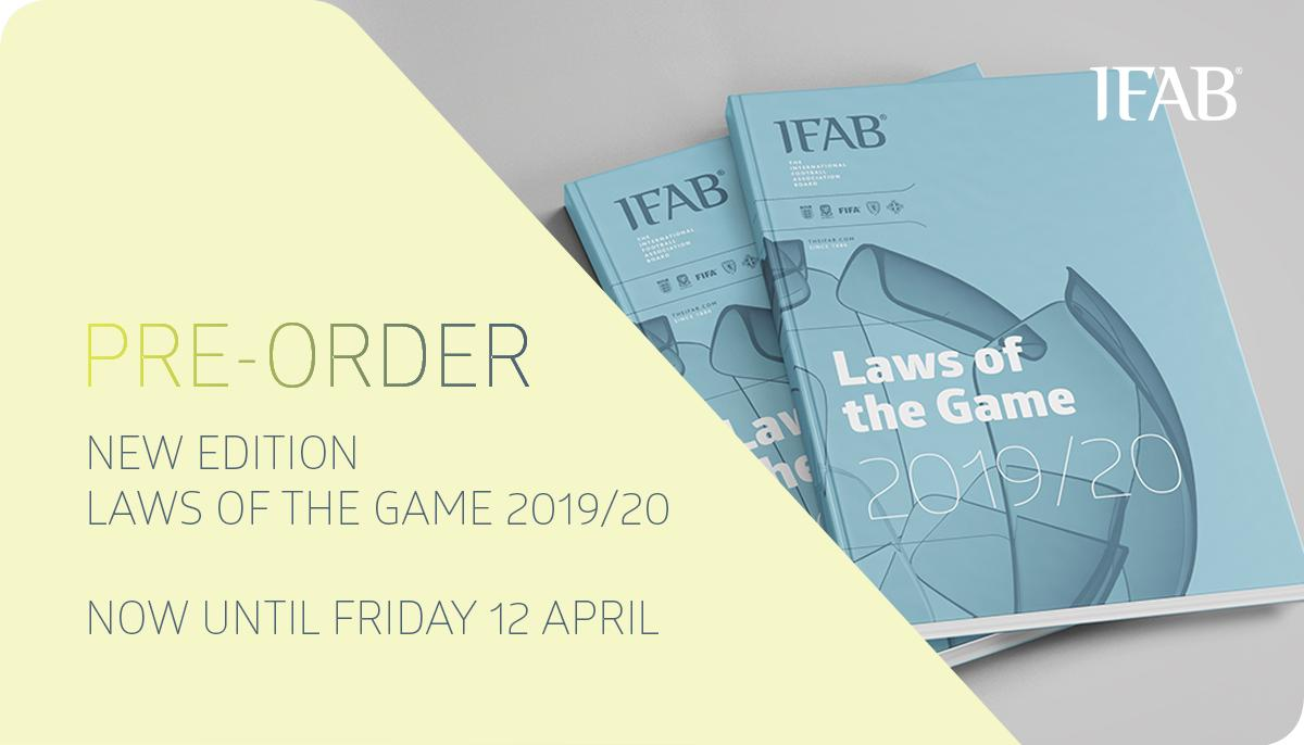 New Laws For 2020.The Ifab On Twitter New Laws Of The Game 2019 2020