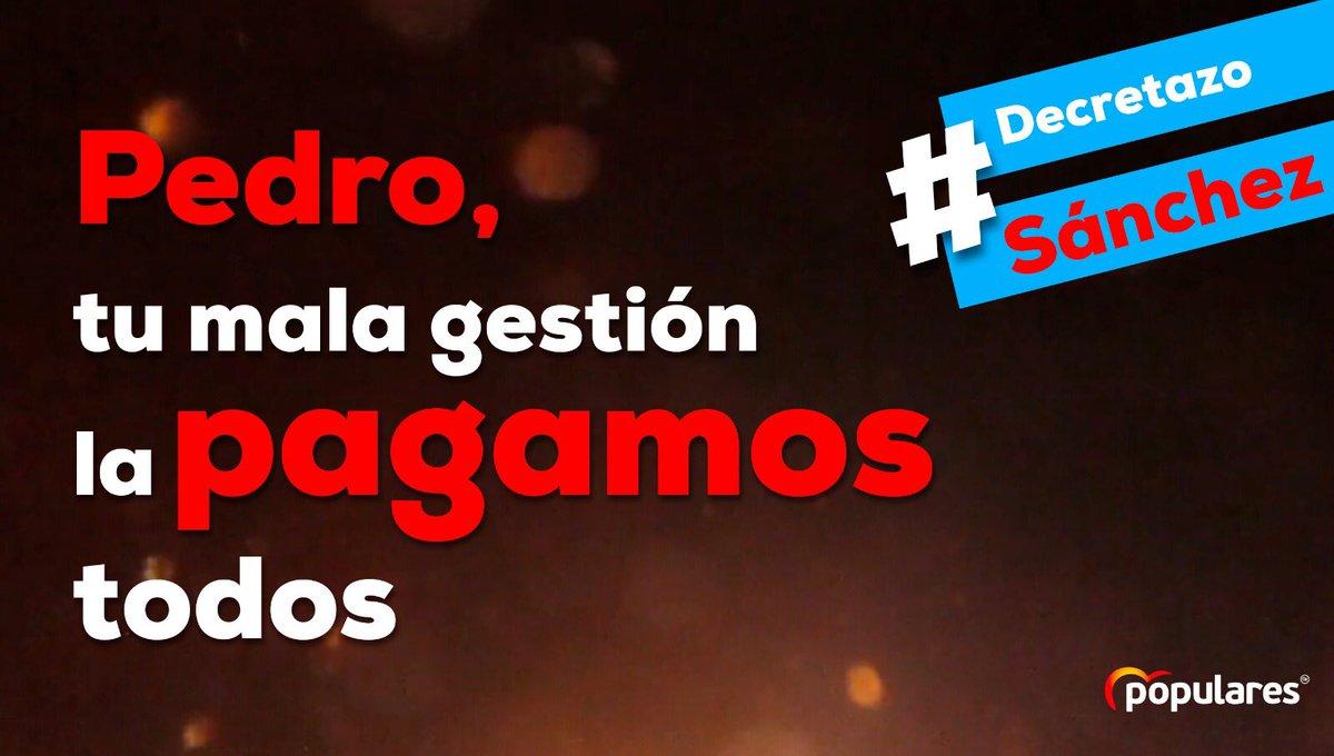 Partido Popular Castilla-La Mancha's photo on #DecretazoSánchez