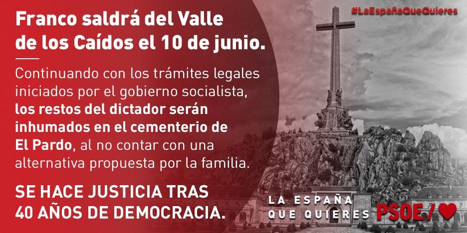 PSOE's photo on #PorDignidadYMemoria