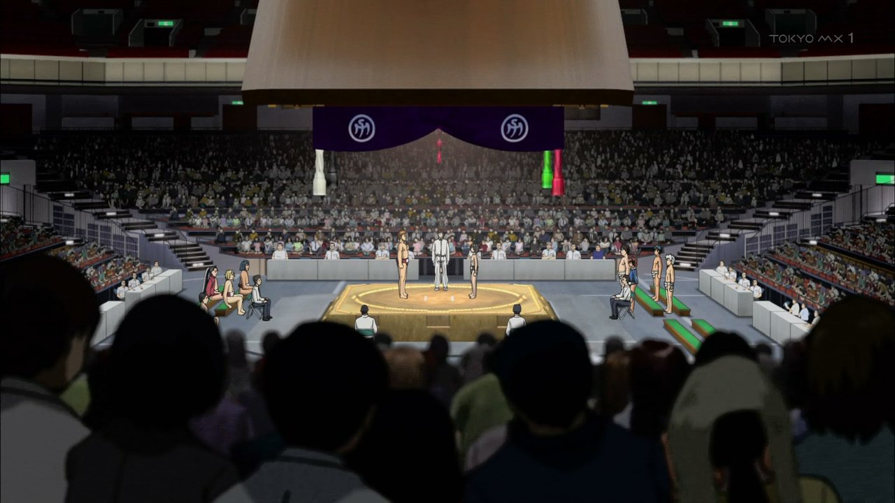 お相撲 #hinomaruzumou #tokyomx https://t.co/STIeQMvbHh