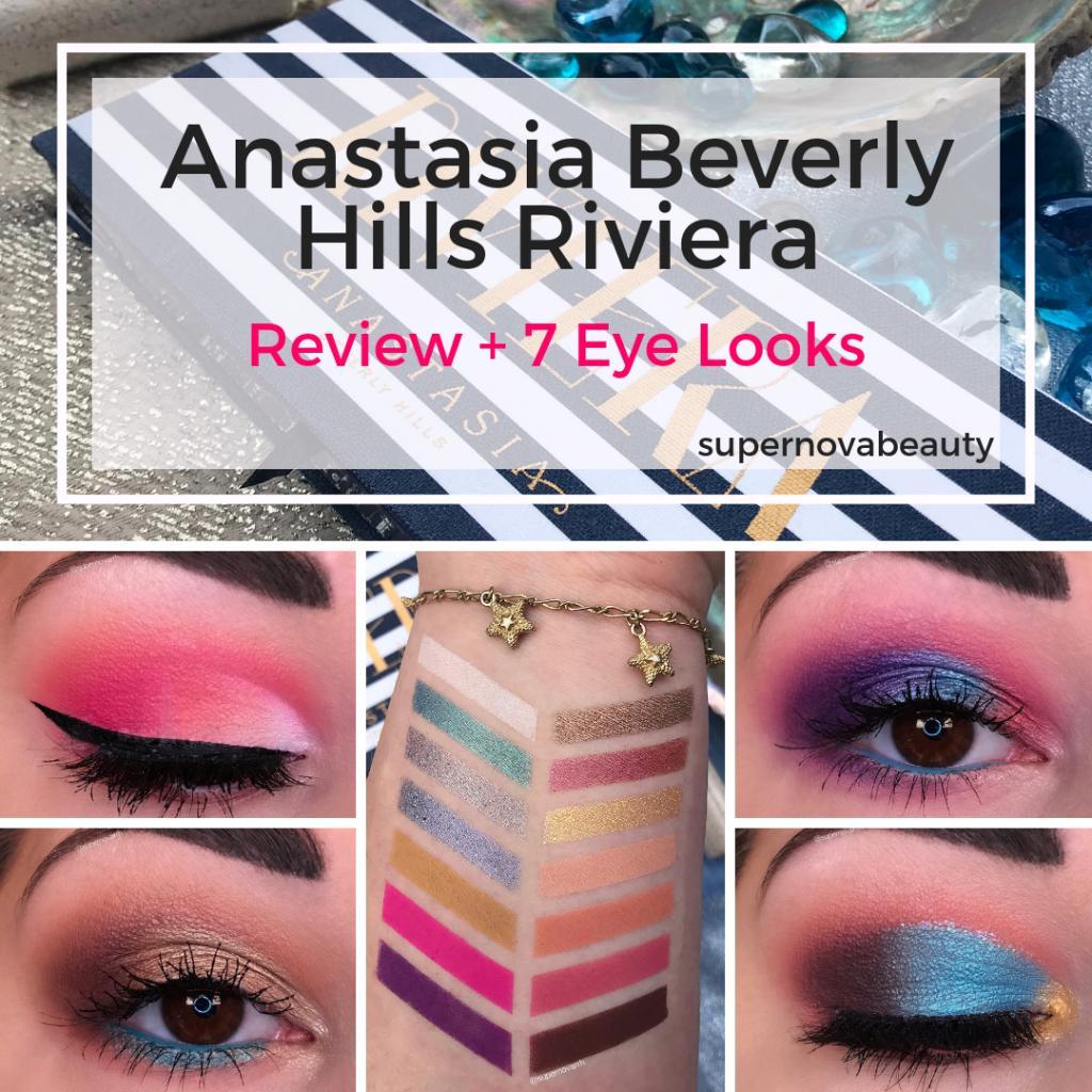 "Ana Stasia & Co nova on twitter: ""anastasia beverly hills riviera palette"