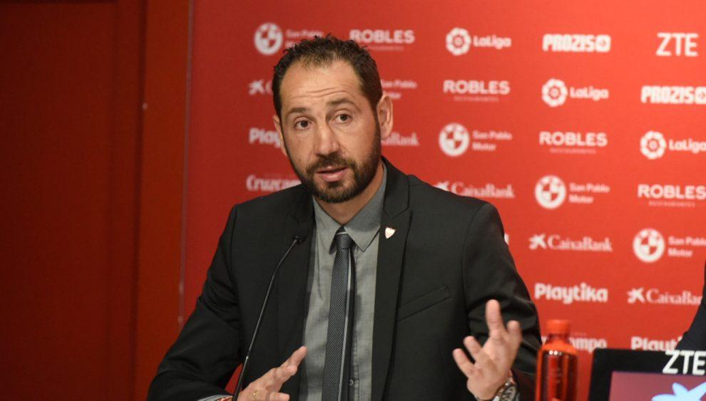 Sevilla Actualidad's photo on Pablo Machín