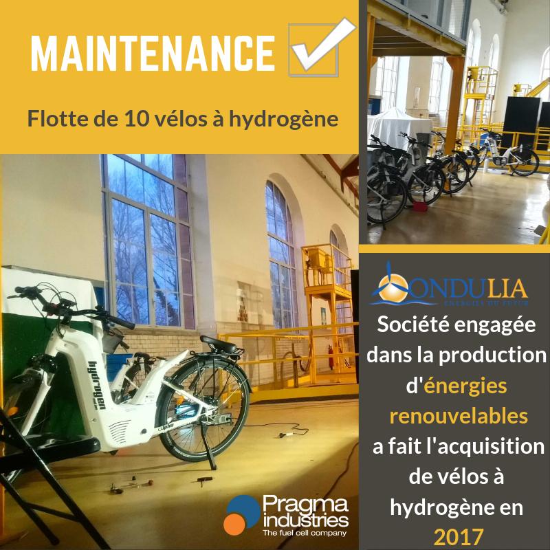 Déplacement à Rieux de Pelleport en Ariège, pour la maintenance de la partie #energie des vélos à #hydrogene Alpha acquis par la société Ondulia.🚴♀️🏞 @ariegeledpt #H2now #ecomobilite #renewableenergy  #velohydrogene #fuelCell #H2bike #rechauffementclimatique  @PragmaFuelCells