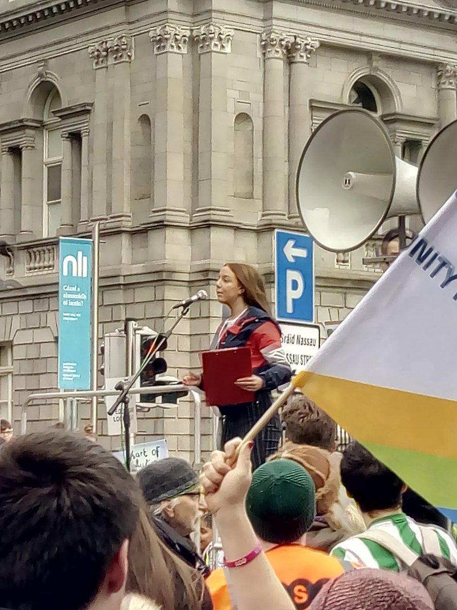 Sinéad Mercier's photo on #studentstrike4climate