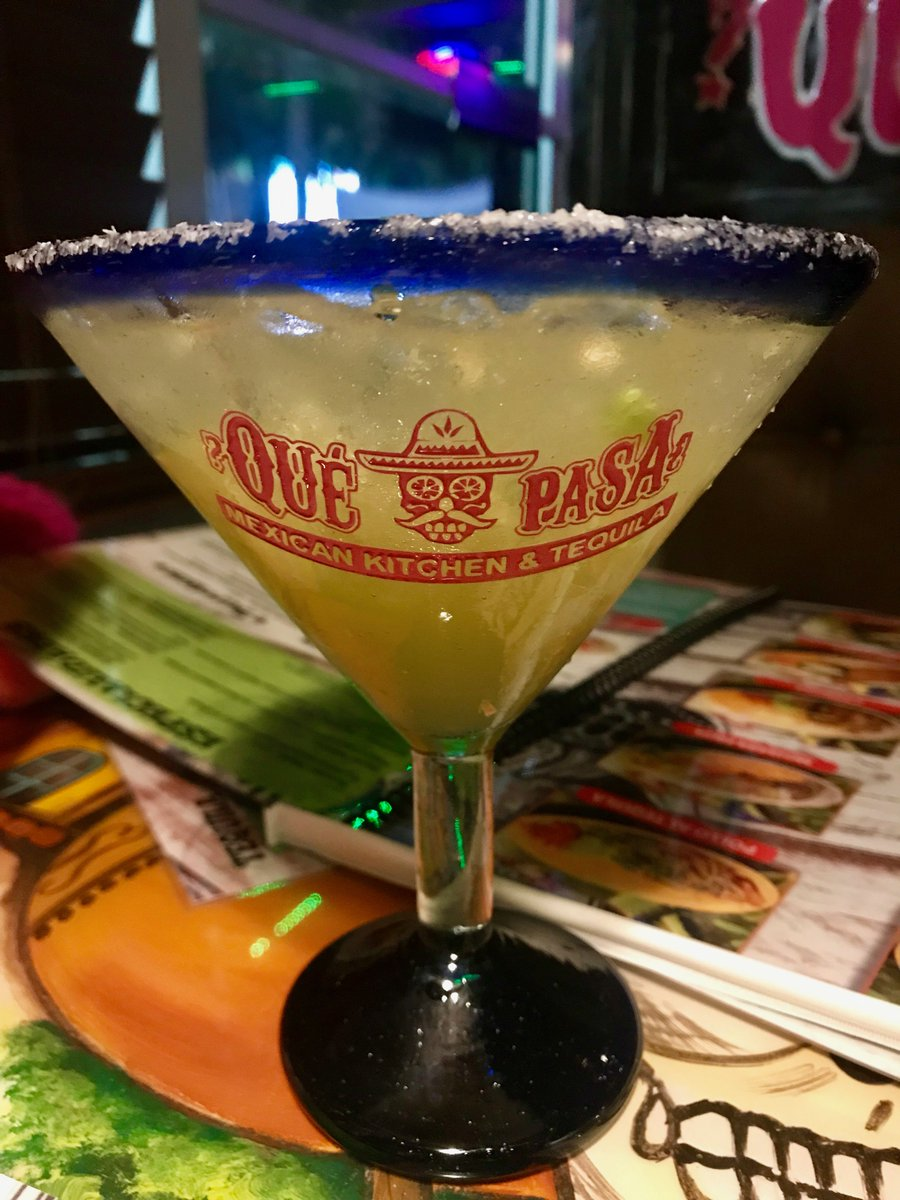 I ate three days worth of calories at Que Pasa in Destin. Read about my dinner (& stellar margarita) there @nwfdailynews https://bit.ly/2TUE1hQ @BrendaSnwfdn @heatheronwfdn #Destin #QuePasa #MexicanFood #TacoTuesday