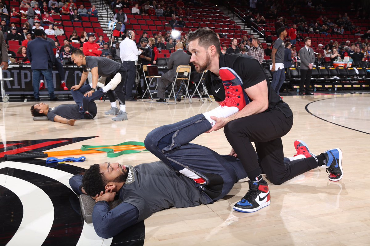 Today, start your day off with stretching or breathing exercises. Use #NBAFIT to tell us how you stay FIT in the mornings. To learn more  about how you can Be FIT Like a Pro, visit http://fit.nba.com.