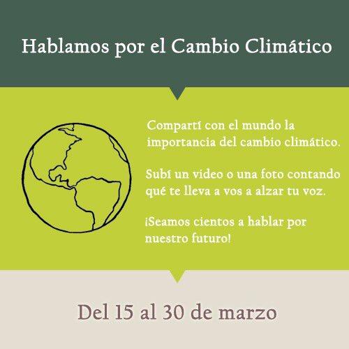 Hablamos por el Cambio Climático's photo on #cambioclimático