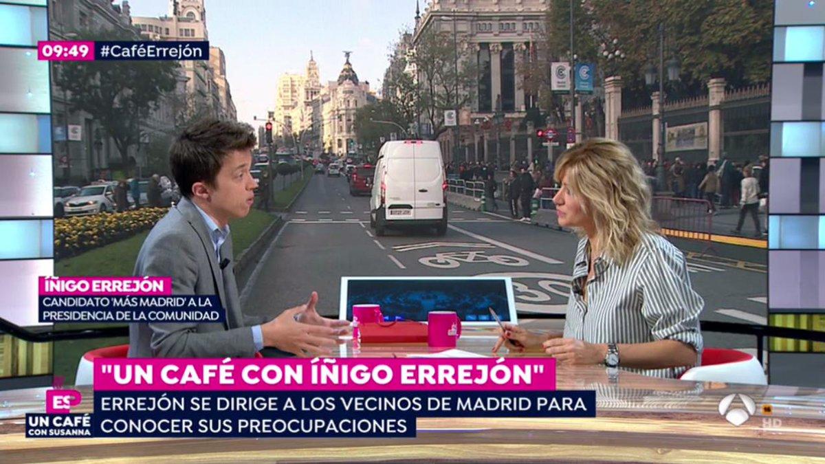 Más Madrid Comunidad's photo on #CaféErrejón