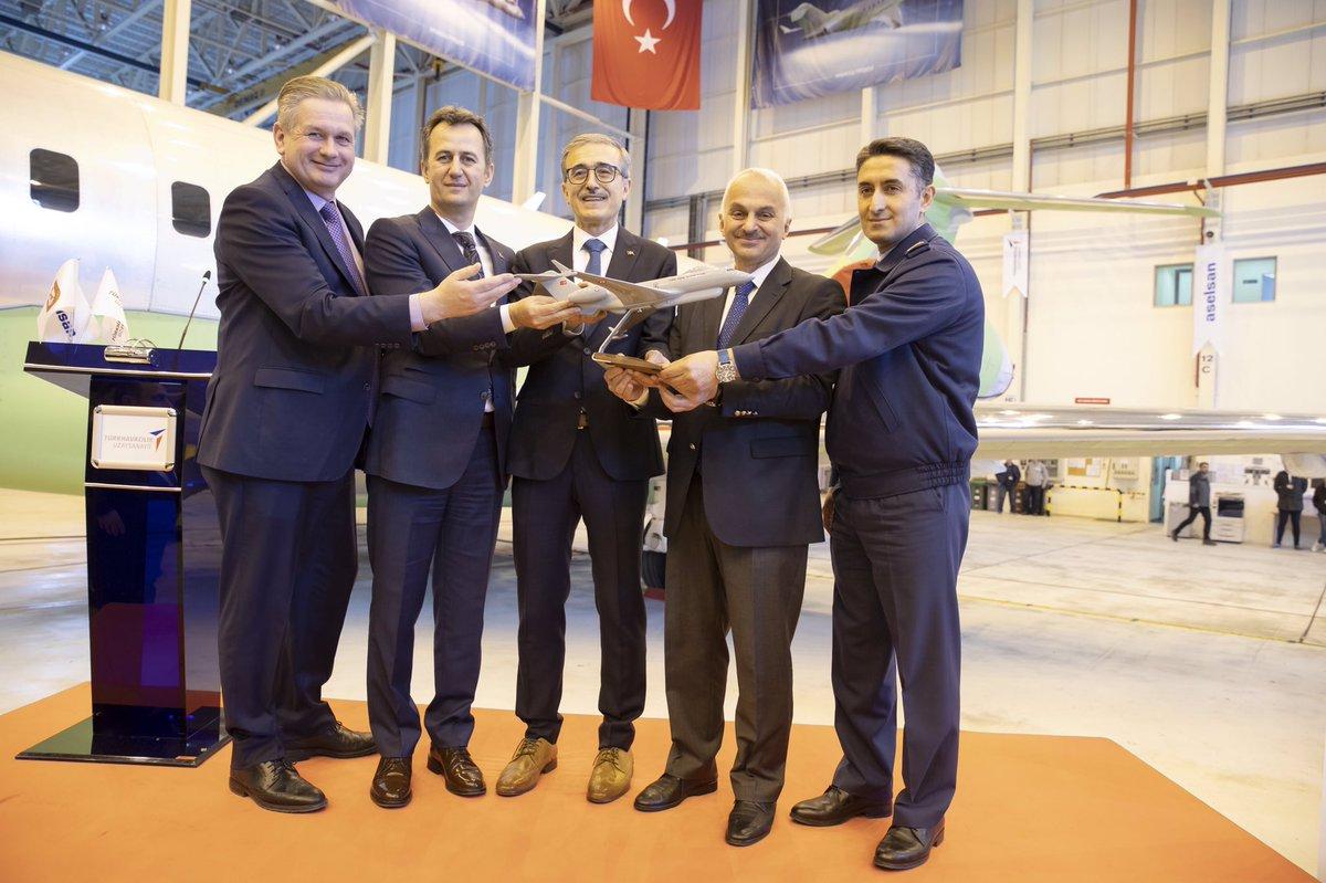 وصول طائرات bombardier global 6000 التي ستحمل نظم الحرب الإلكترونية المحلية HAVA SOJ إلى تركيا D1sBk__XcAAOvK7