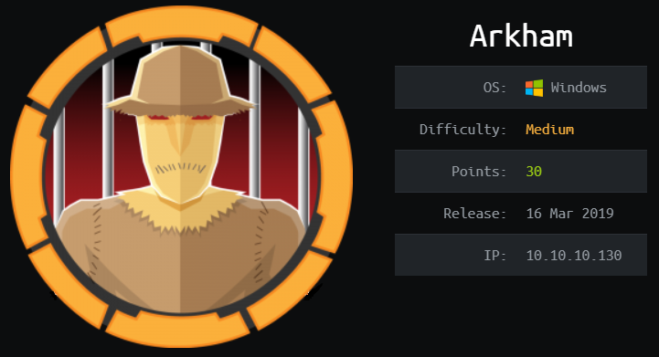 Don't let the outside fool you! Arkham will go live 16/03/2019 at 19:00:00 UTC. Carrier will be retired! You still have time to hack your way in at: http://hackthebox.eu/#join
