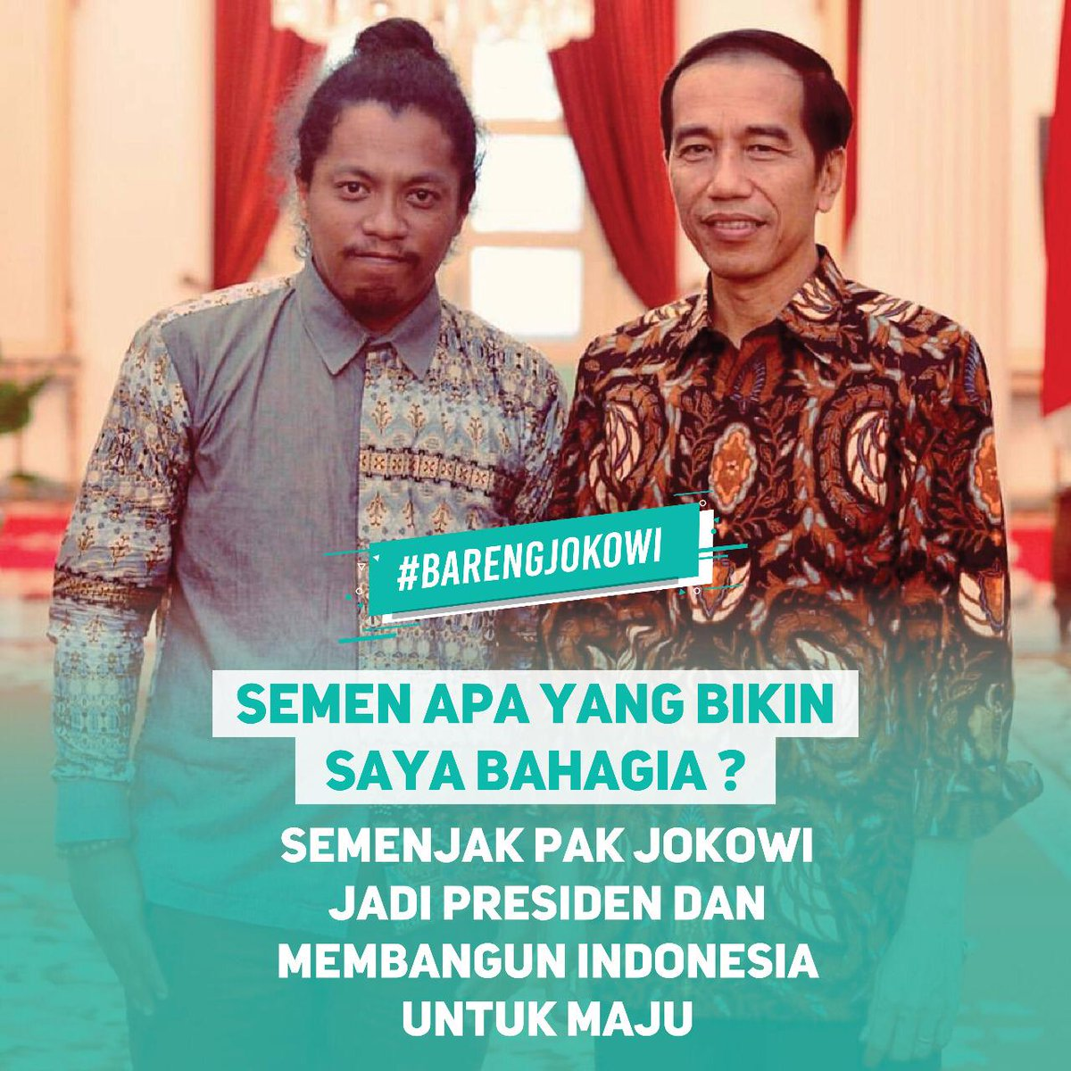 Dede Budhyarto's photo on #BarengJokowi