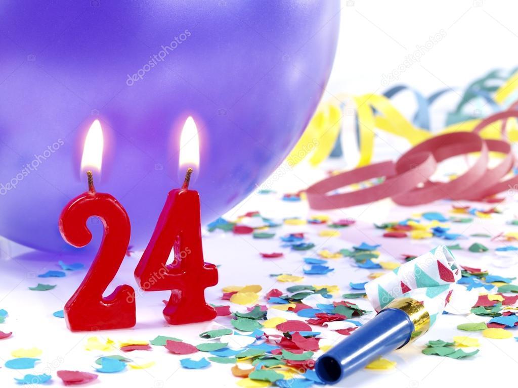 Открытки на день рождения 24 года