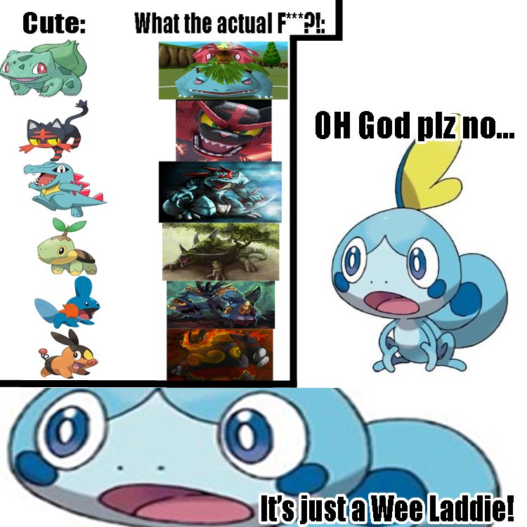 This is how I see our poor boi Sobble will end up when #PokemonSwordandShield is released :,(   #sobbleSquad #memesdaily #NintendoSwitch #Nintendo #gaming #gaminglife #animeawards #Instagram<br>http://pic.twitter.com/pLkWB3ylIq