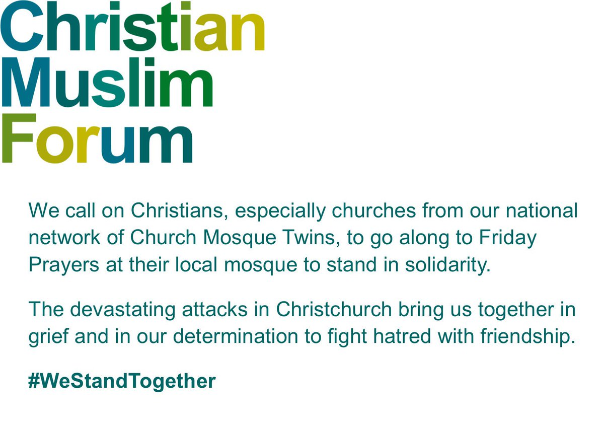 Christian Muslim Forum's photo on #WeStandTogether