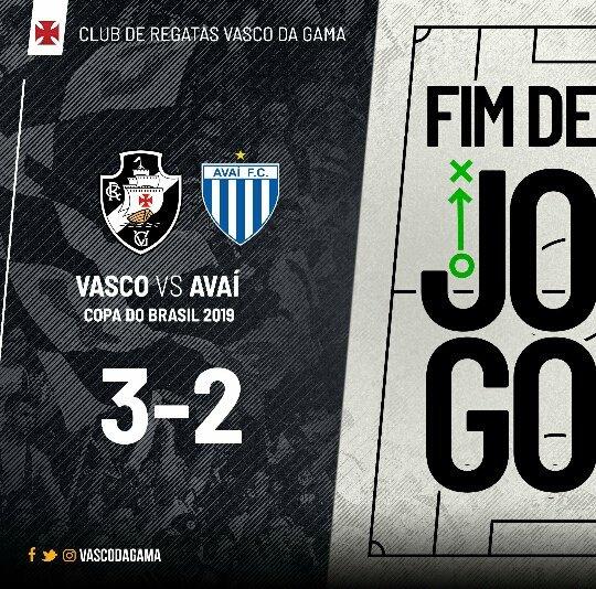 Vascão da gama news's photo on Avaí
