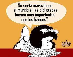 Bibliotecas Cádiz's photo on #Mafalda