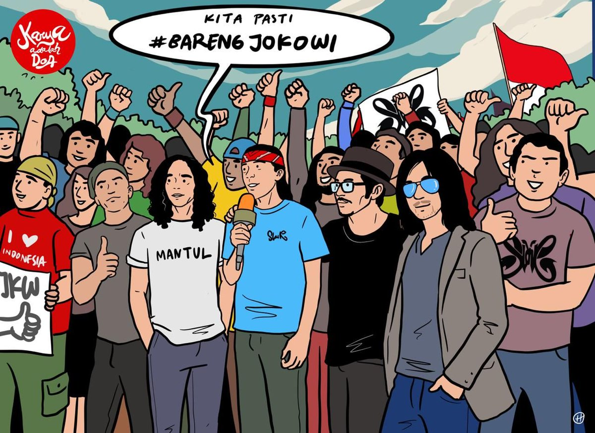 May's photo on #BarengJokowi