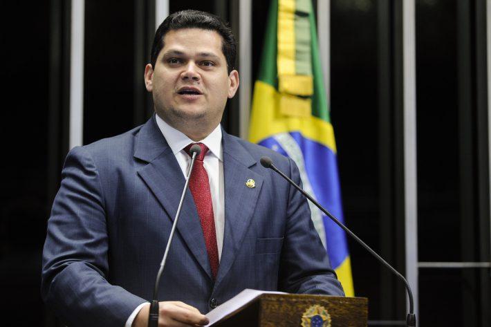 Estadão's photo on Alcolumbre