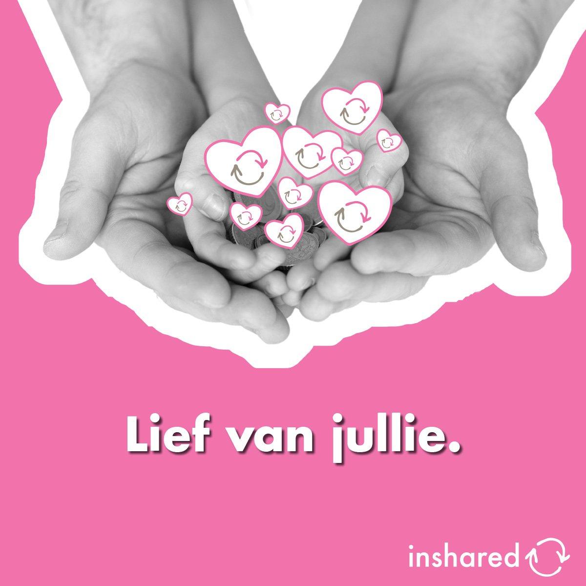 DONEREN = LIEF Yes! Ook dit jaar is er weer een Jaarbeloning voor de klanten van InShared. Dit jaar maar liefst 1,1 miljoen euro. Dat kunnen ze door ons laten doneren aan KWF Kankerbestrijding. Als dat geen 'We all benefit' is ❤️ https://t.co/XoNBgGrTEg