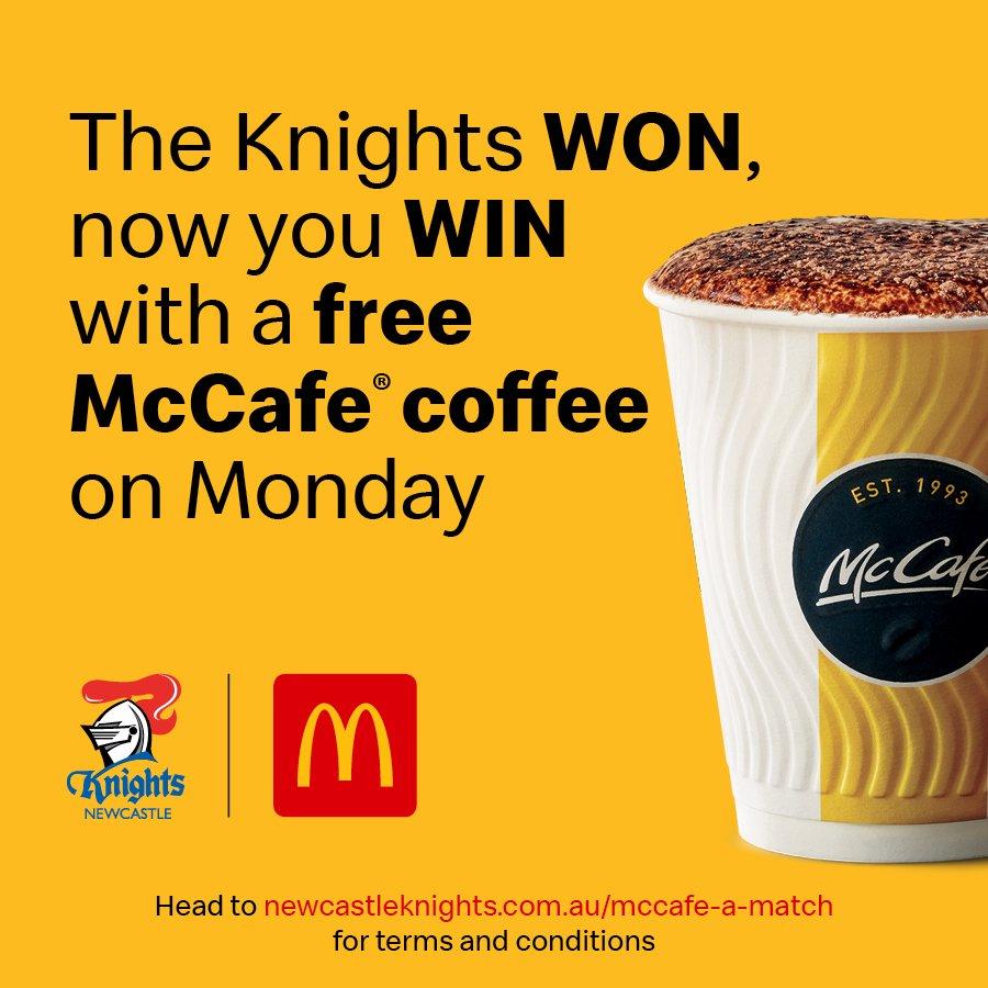 RT @NRLKnights: We win, you win!  #GoHardGoKnights #NRLKnightsSharks #20Knighteen https://t.co/zN4iUeqGvB