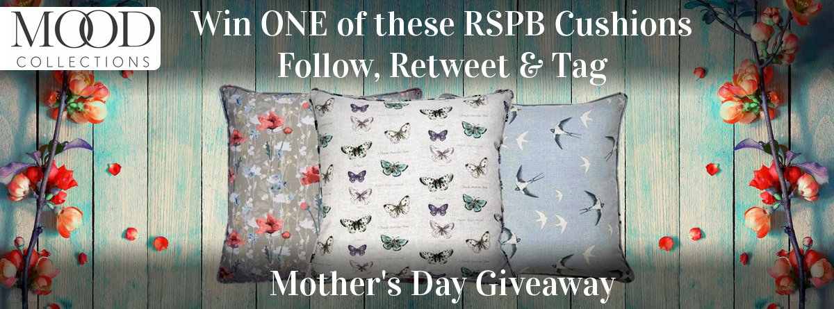 #CompetitionTime Heres your chance to #WIN a RSPB Cushion to enter follow &amp; #RT  let us know you&#39;re favourite RSPB cushion in the comments ends 22.03.19 T&amp;C&#39;S  https:// buff.ly/2u8nWXq  &nbsp;   #mothersdaygift #competition #CompetitionTime #giveaway #GiveawayAlert #competitions #giveaways<br>http://pic.twitter.com/DFVWnUKVhb