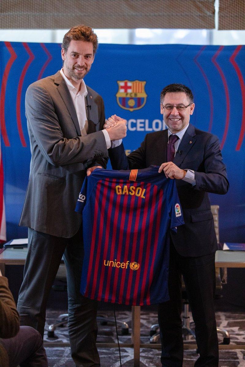 🏀 Pau Gasol is back! He returns to Barça as a strategic adviser and the Club's ambassador in the United States 🇺🇸  👍 Pau Gasol nuevo asesor estratégico y embajador global del Barça en los Estados Unidos 🇺🇸