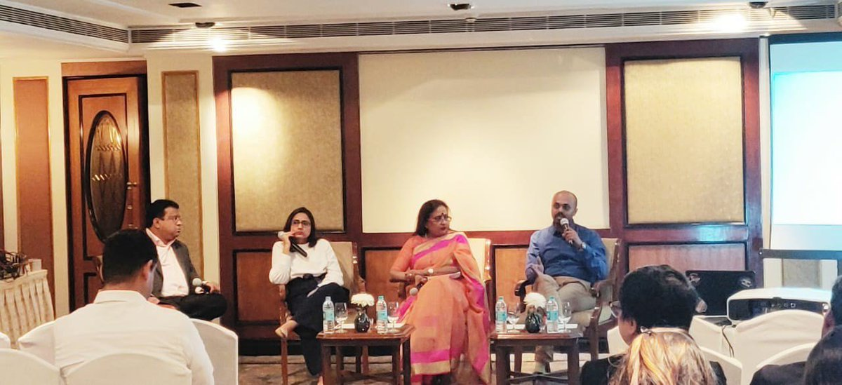Our very own data genius @MithunCotha (Vice President - Analytics) spoke along side @kkalpu, @anushree_b & @Joseph_Eapen on the importance of IPL & Social Listening at the @Talkwalker conference held in Taj Lands End, Mumbai. https://t.co/XqeXcho7sh