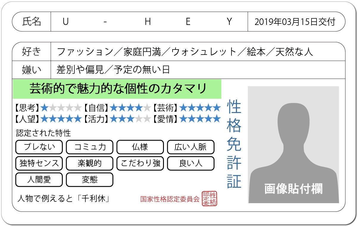 U-HEY's photo on #免許証発行診断