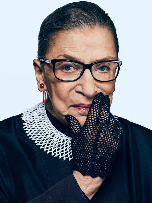Happy 86th birthday to Justice Ruth Bader Ginsburg. You can t spell truth without Ruth!