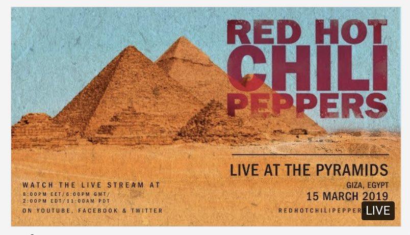 Adib Hidayat's photo on Red Hot Chili Peppers