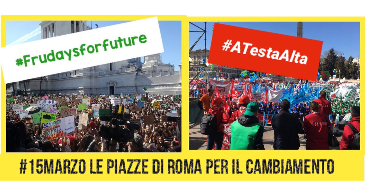 CGIL Nazionale's photo on #atestaalta