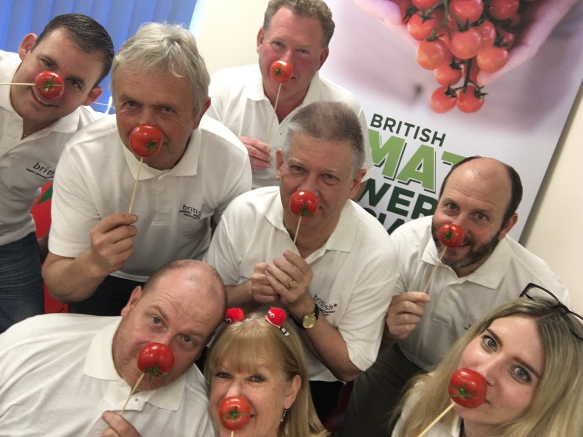 Eric Wall Tomatoes's photo on #RedNoseDay2019
