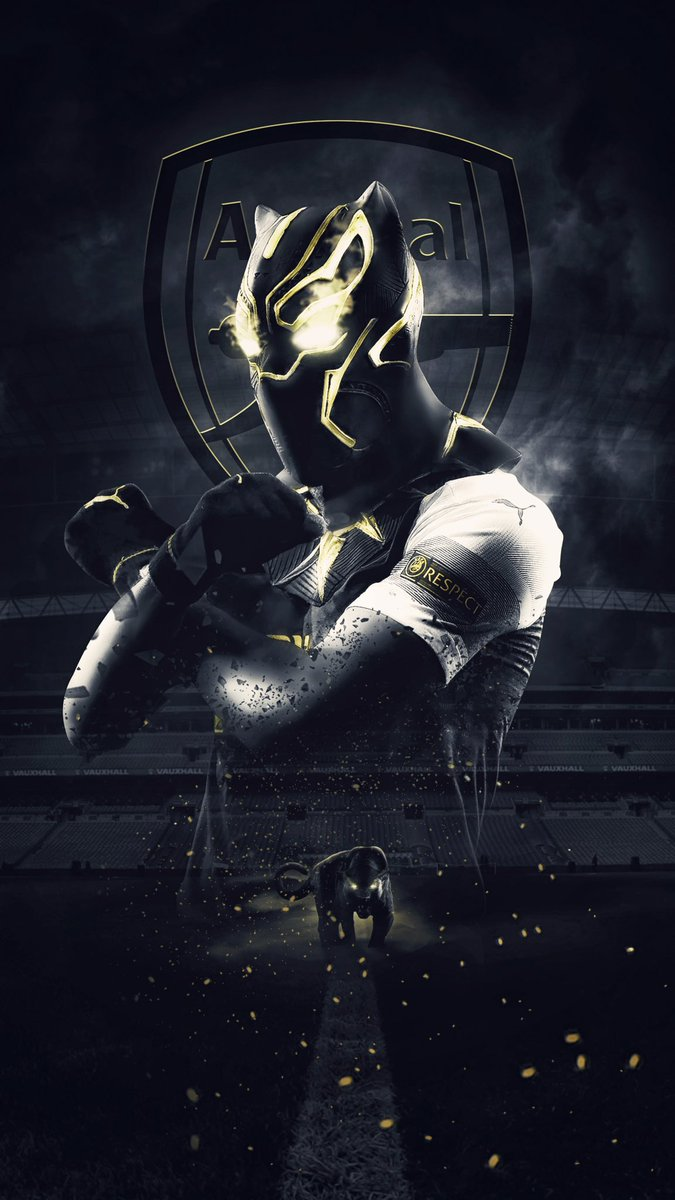 """""""Wakanda Forever""""- @Aubameyang7 Poster for this #EL season!  Leave a  if you love this design!<br>http://pic.twitter.com/x4bJF1dEZB"""