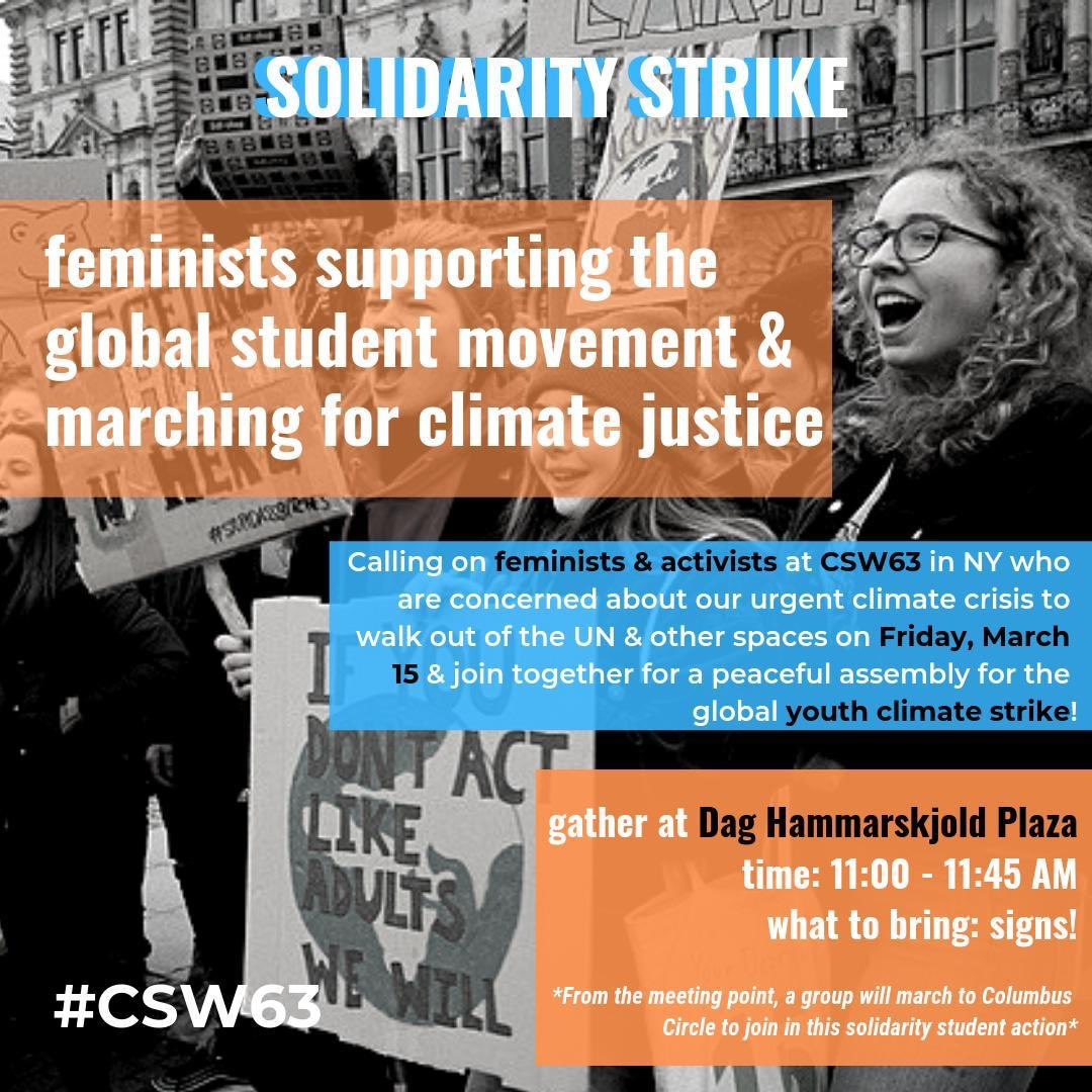 Lisa Kelly's photo on #studentstrike4climate