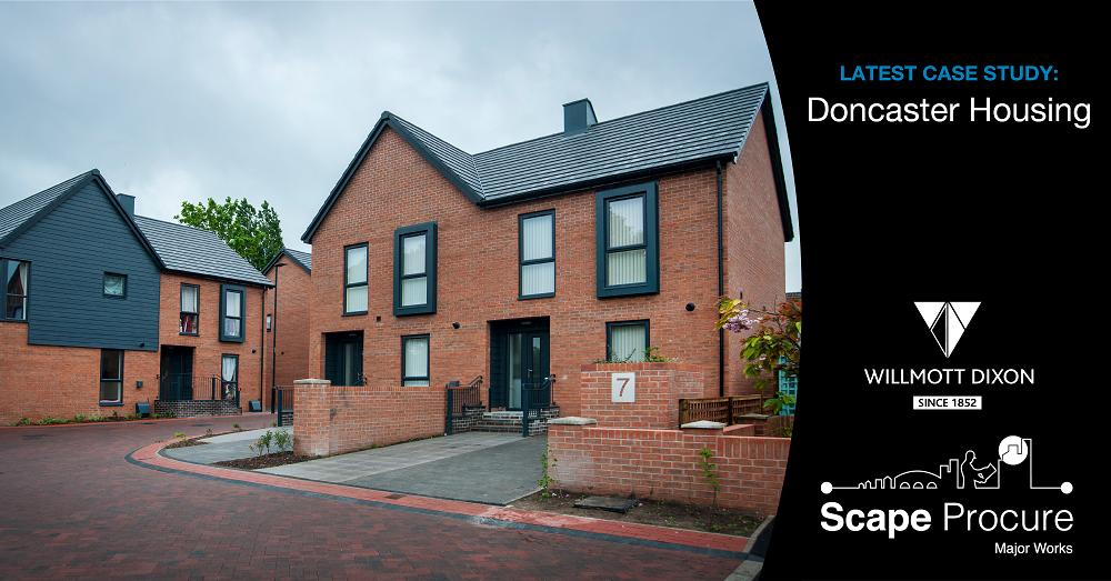 We're supporting @MyDoncaster to deliver exceptional #affordablehousing, ensuring price certainty and consistent quality for 300+ #newhomes across the borough. The team thoroughly deserve their award for #socialhousing development of the year! http://bit.ly/2BAZWRq  #TeamScape