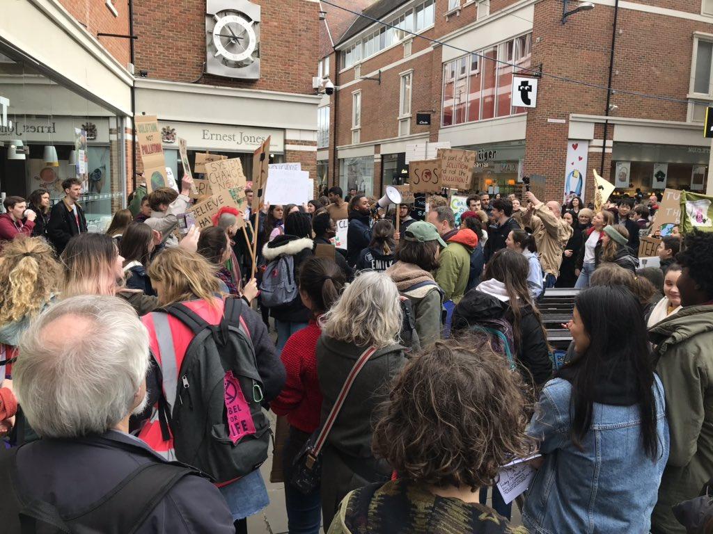 Bernadette Fisher's photo on #ClimateStrikeUK