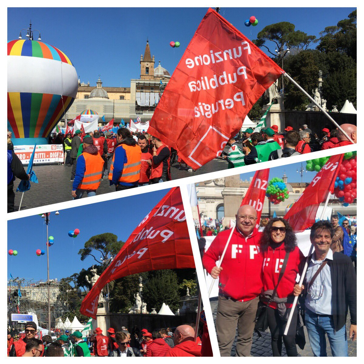 Fp Cgil Nazionale's photo on #atestaalta