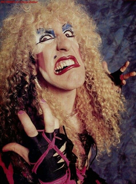 I wanna rock........and some cake.  Happy 64th birthday, Dee Snider!