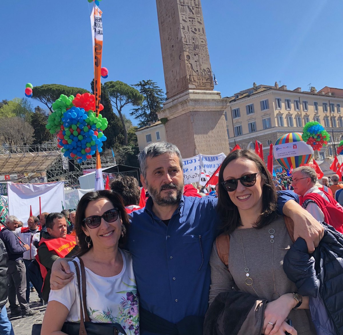 Fisac Cgil Toscana's photo on Piazza del Popolo