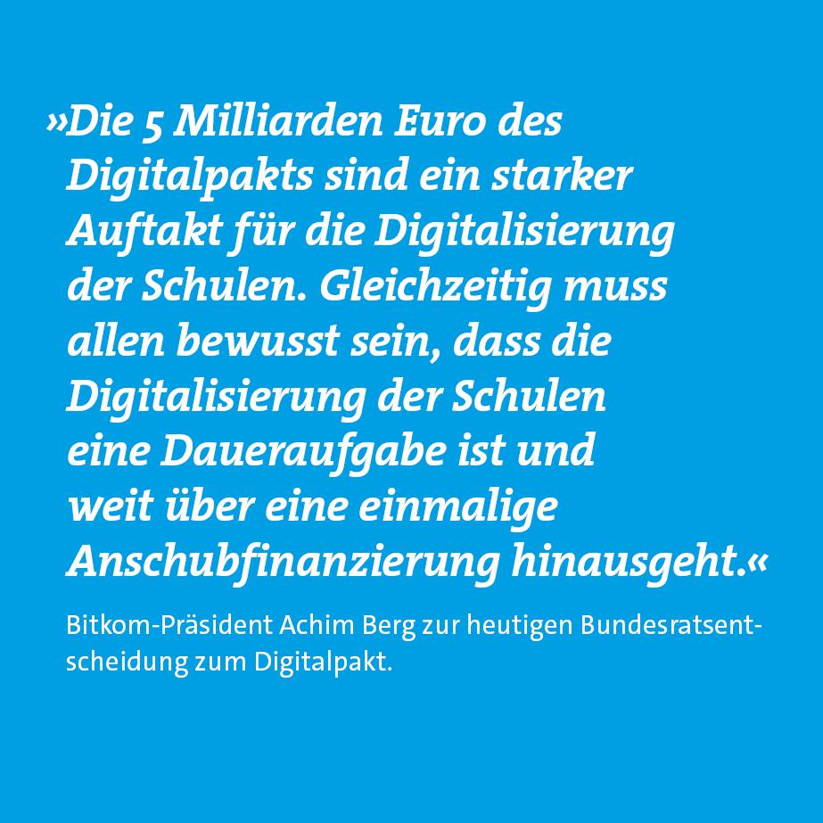 Bitkom's photo on #Digitalpakt