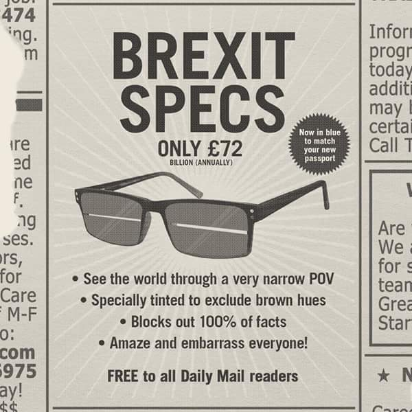 Ahhh, now the last three years make sense! #Brexit #BrexitMayhem <br>http://pic.twitter.com/C2wloLfQ0G