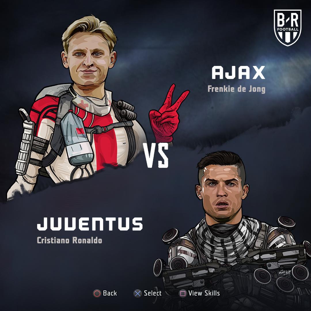 B/R Football's photo on Ajax vs Juventus