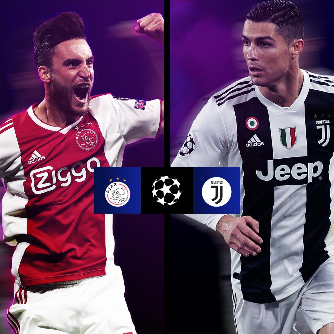 UEFA 2018/19: Who will qualify to the semi-finals? Ajax or Juventus D1sgWDLXQAEY-m9