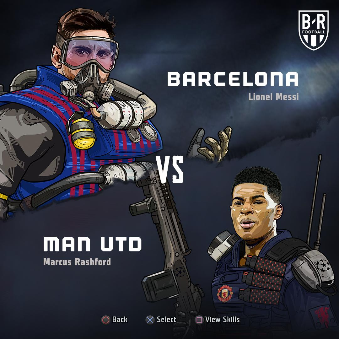 B/R Football's photo on Barcelona vs Manchester United