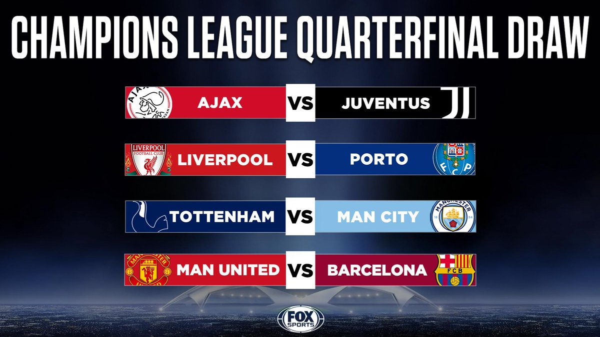 FOX Soccer's photo on Champions League