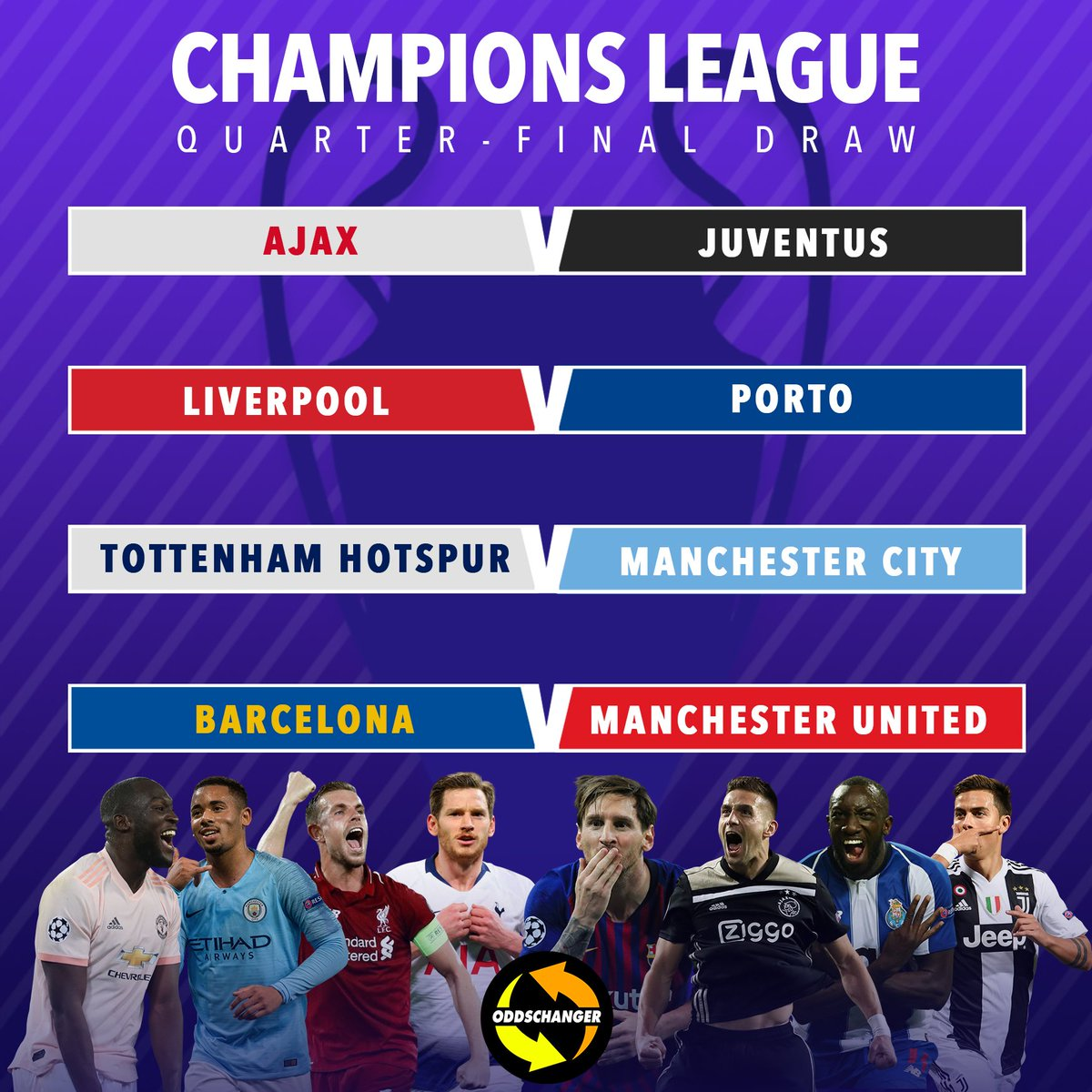 Oddschanger's photo on The Champions League