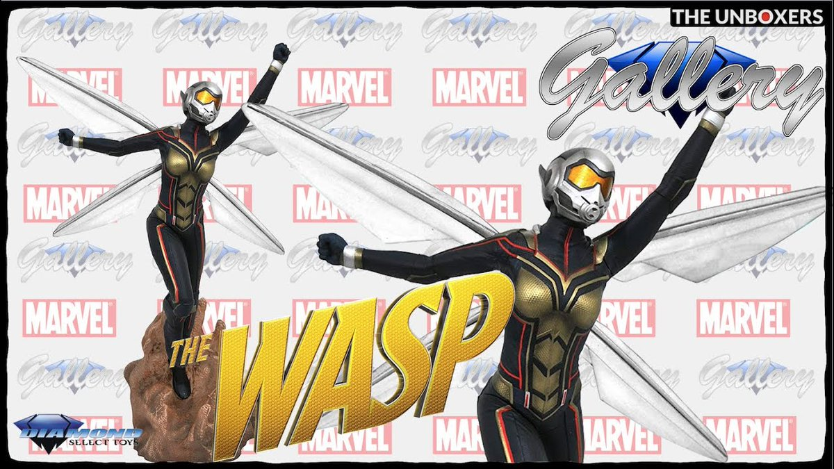 The high flying Wasp comes to life in this stunning #Marvel